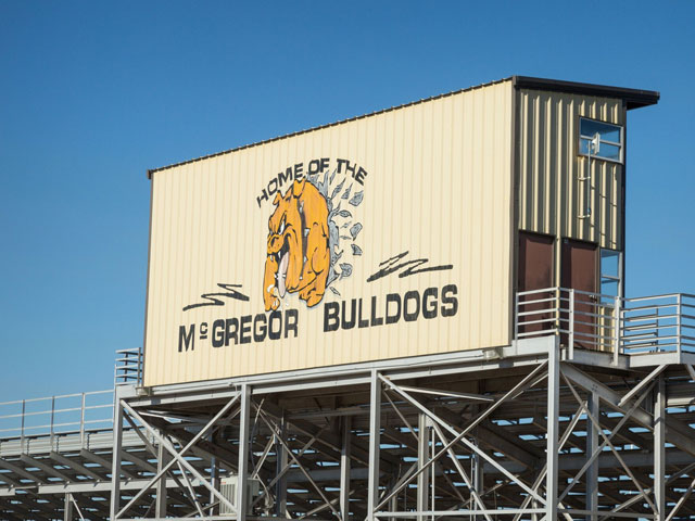 McGregor Press Box