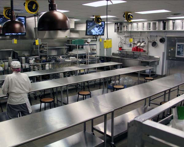TSTC Culinary arts 3 Interior Kitchen