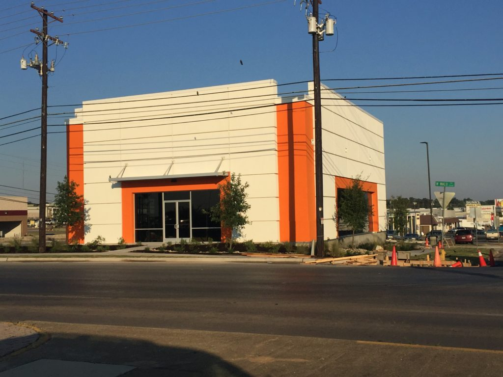 Commercial General Contractor Waco Texas Stanton Optical Shell