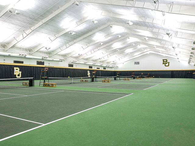 Baylor's Hawkins Indoor Tennis Facility